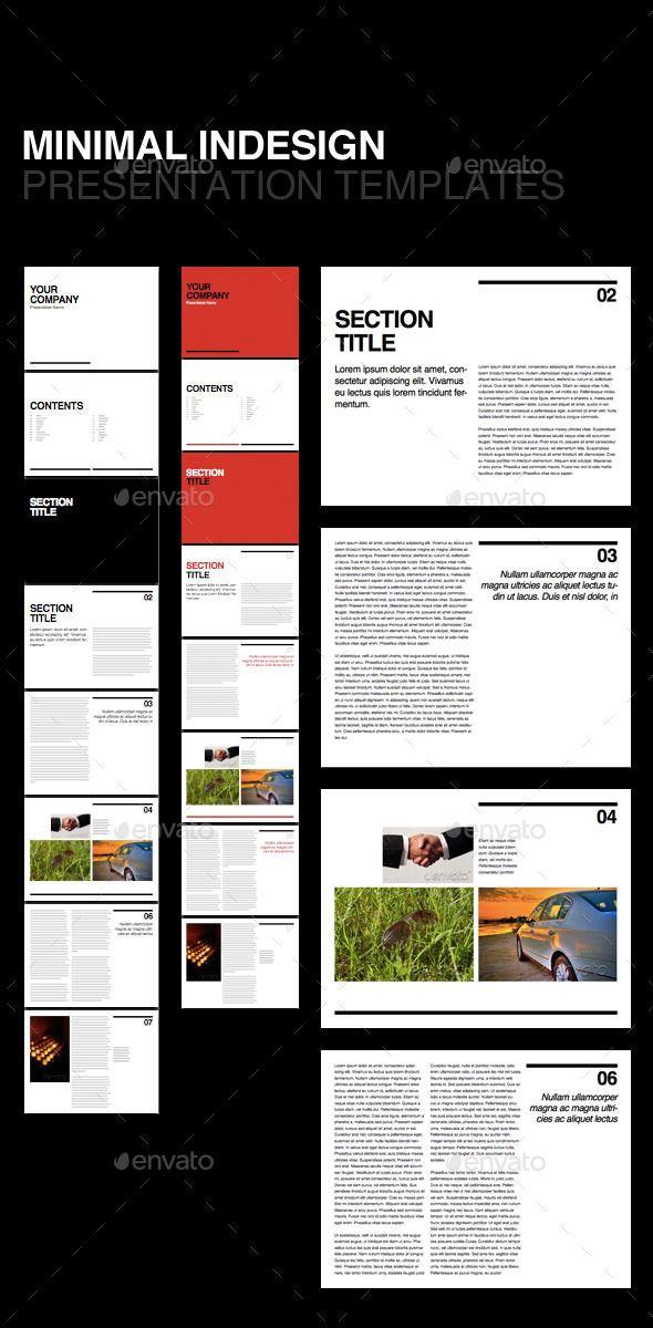 Swiss Minimal Presentation Template | Presentation templates ...