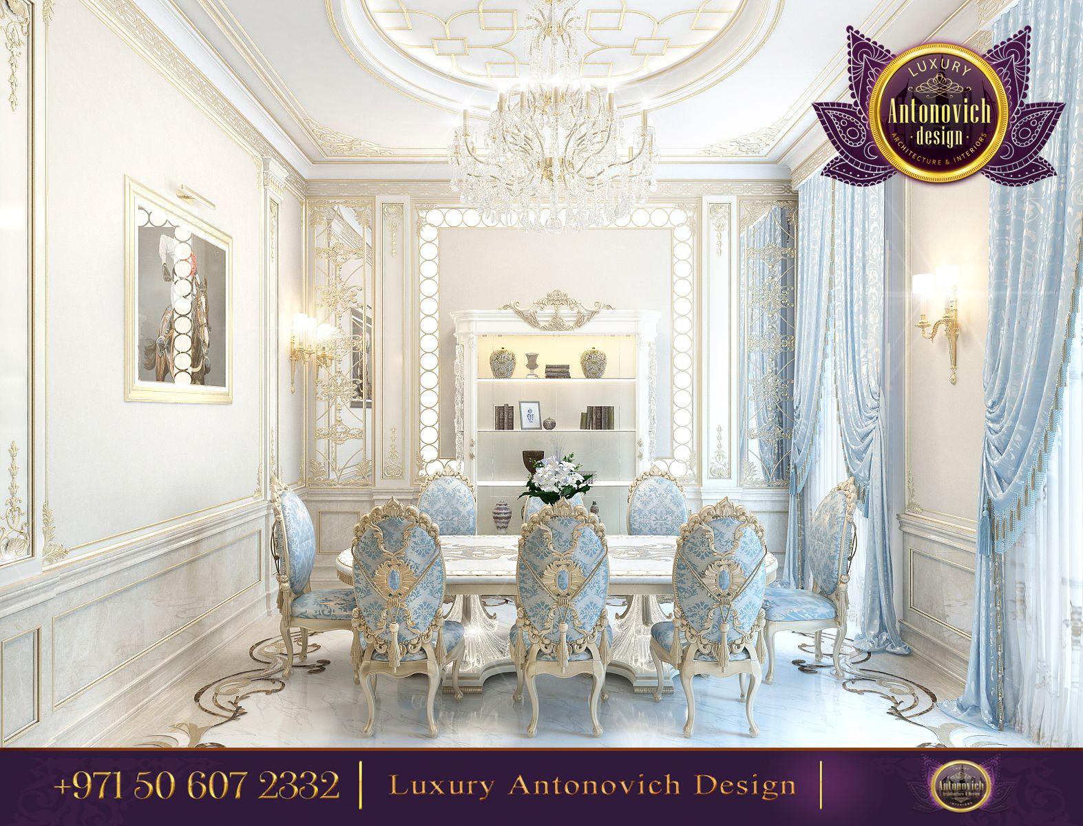 Luxury dining room design antonovich - Interior design kitchen dining room ...