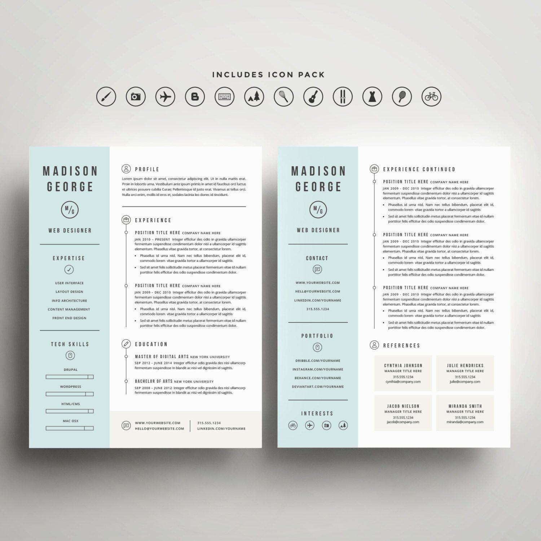 12 Minimal Resume words school list in 2020 Modern