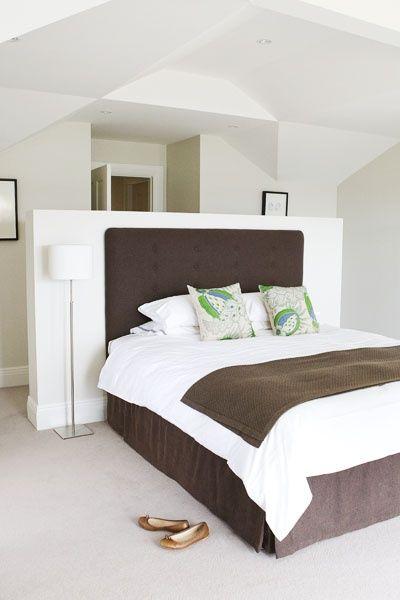 image result for dwarf wall behind bed design number