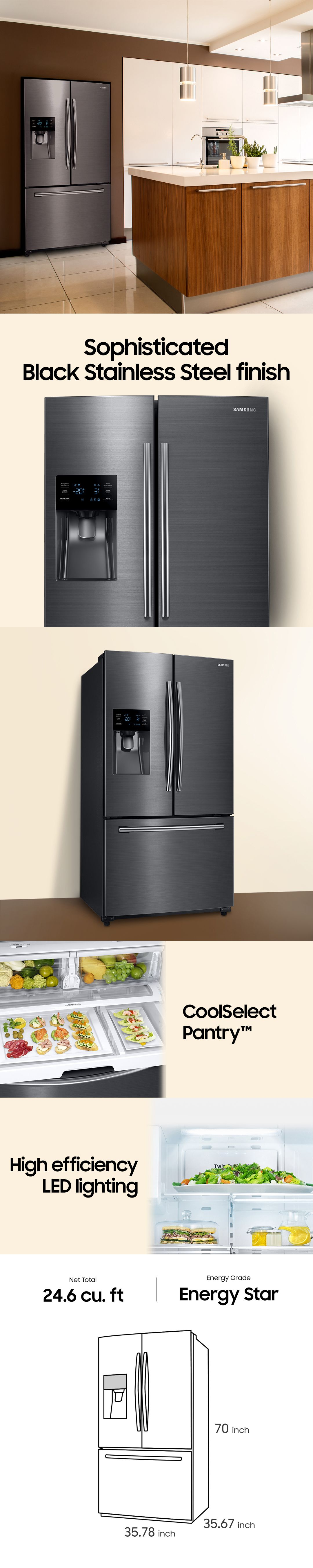These Days Kitchen Appliances Not Only Need To Work Right They Need To Look Right Too So A Sophisticated Black Stainless Co Kitchen Interior Design In 2019