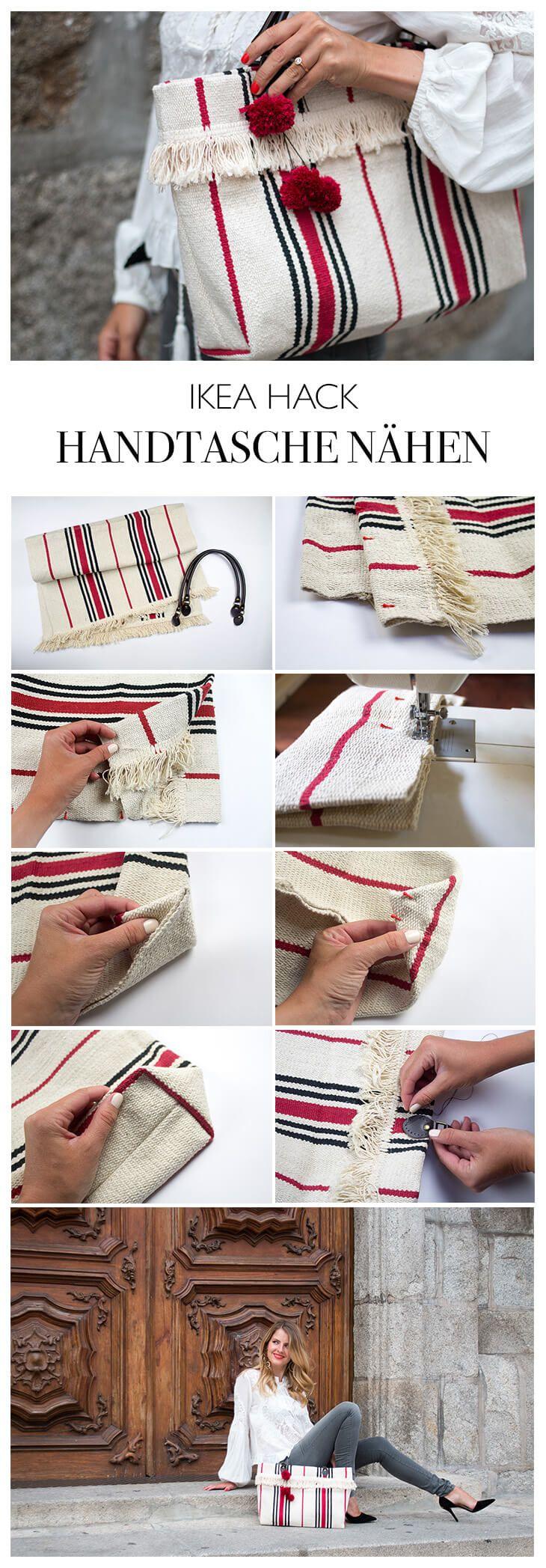 HANDTASCHE SELBER MACHEN #IDEAJOURNEY #IKEAHACK | sac et pochette ...