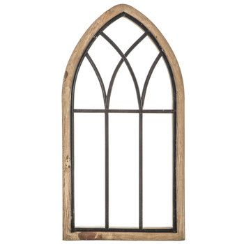 Rustic Cathedral Arch Wood Wall Decor Arched Wall Decor