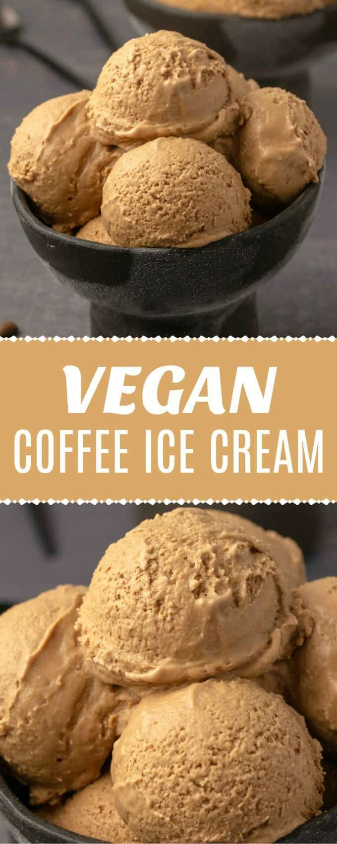 Photo of Vegan Coffee Ice Cream