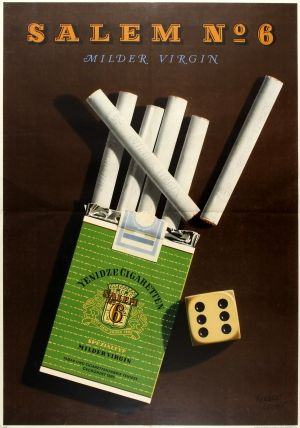 How much cigarettes are in a carton