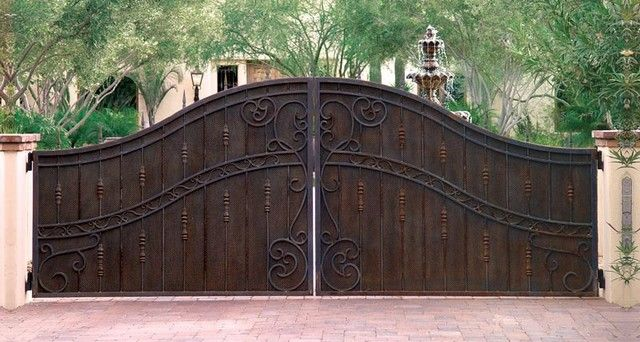 What An Elegant Entry Gate Gates And Gate Operators