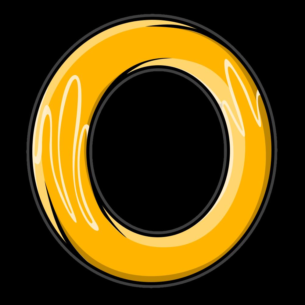 Sonic Ring Gamer Gear Digital Artwork