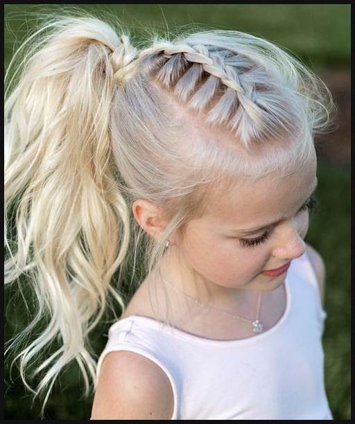 13 Best Frisuren Fur Kinder 2018 Images On Pinterest Einfache Frisuren Pony Hairstyles Hair Styles Little Girl Hairstyles