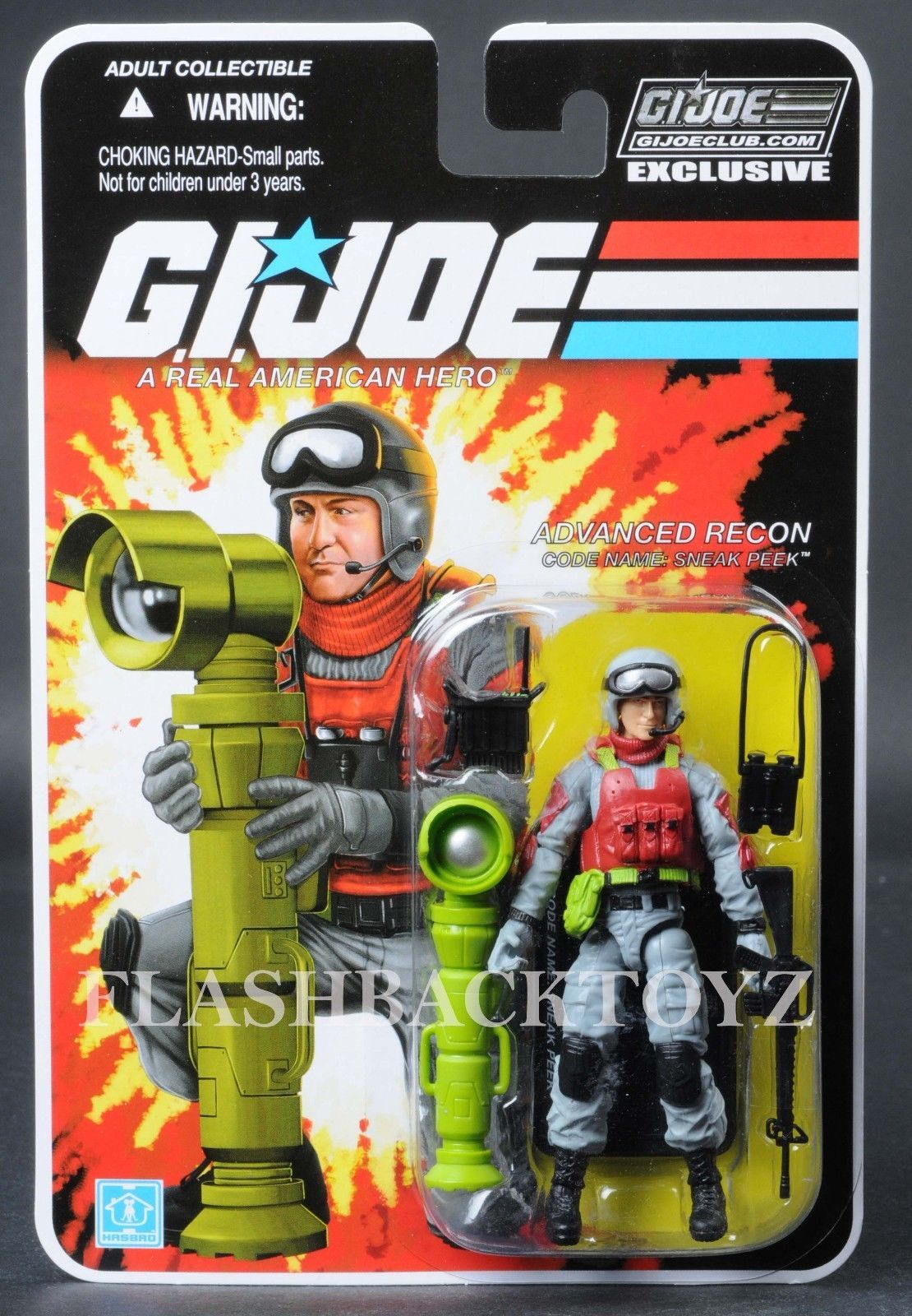 Ready to Ship GI Joe Collector Club Subscription 8.0 Battle Corps Bullet-Proof