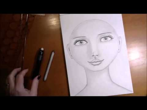 This is a diy step by step tutorial of how to draw and shade a round whimsical face the way i prefer to do it i did a similar tutorial in a