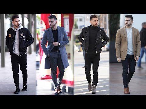 4 Easy Winter Outfits for Men | Men's Winter Lookbook | Men's ...