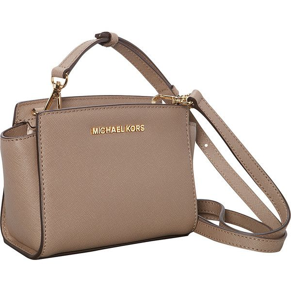MICHAEL Michael Kors Selma Mini Messenger Crossbody Bag (€160 ...