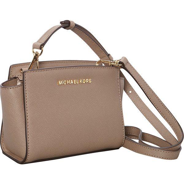 MICHAEL Michael Kors Selma Mini Messenger Crossbody Bag (€ ...