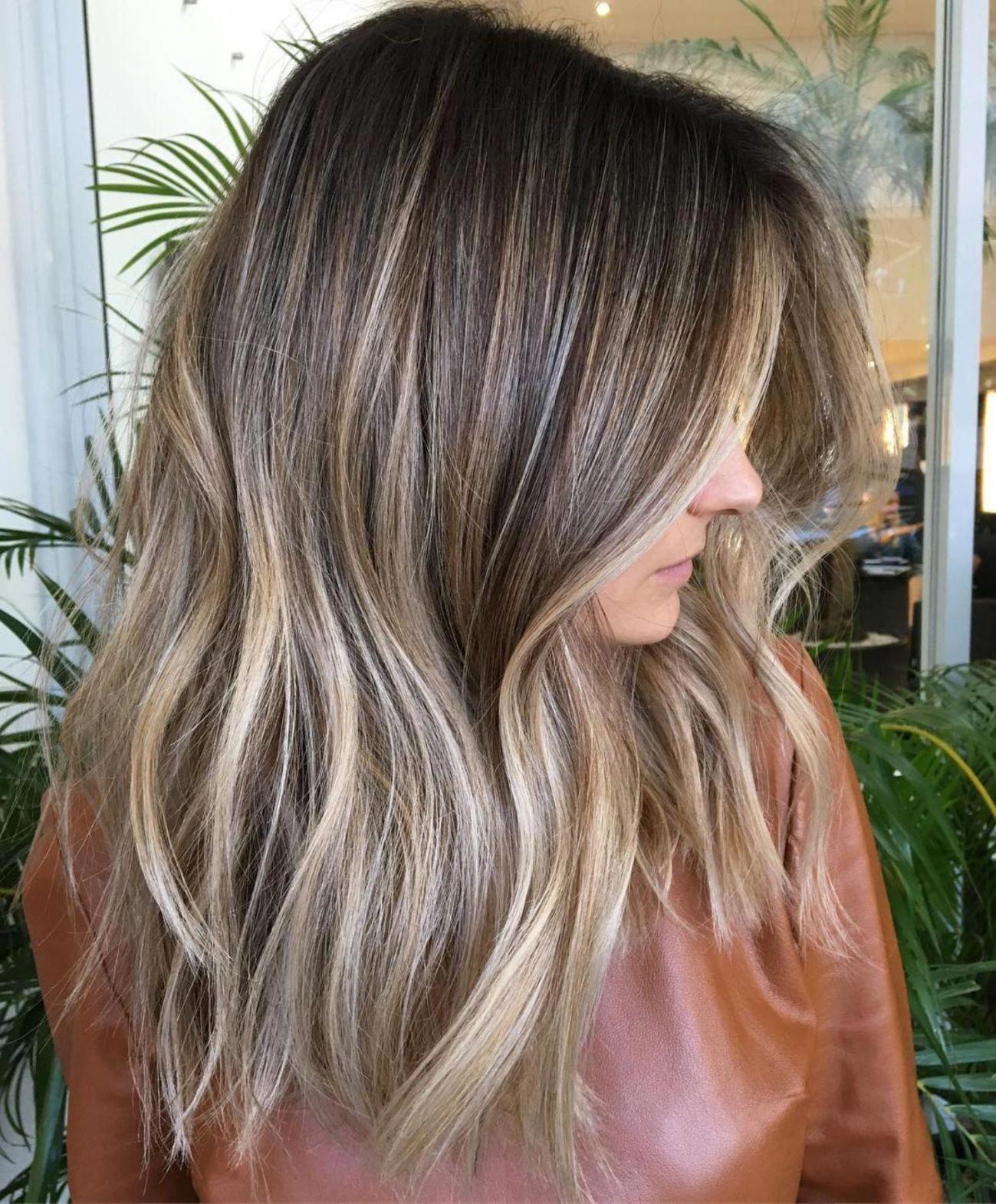 Pin on brown hair balayage