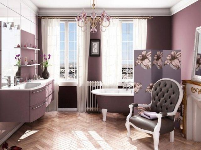 Salle de bains baroque chambre fille pinterest for Salle de bain fille