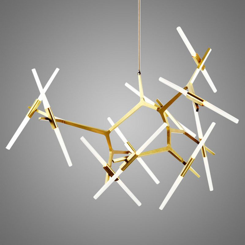 Reviews Modern Glass Pendant Light Nordic Branches Dining Room Kitchen Designer Hanging Lamps Avize Lustre Lighting Review