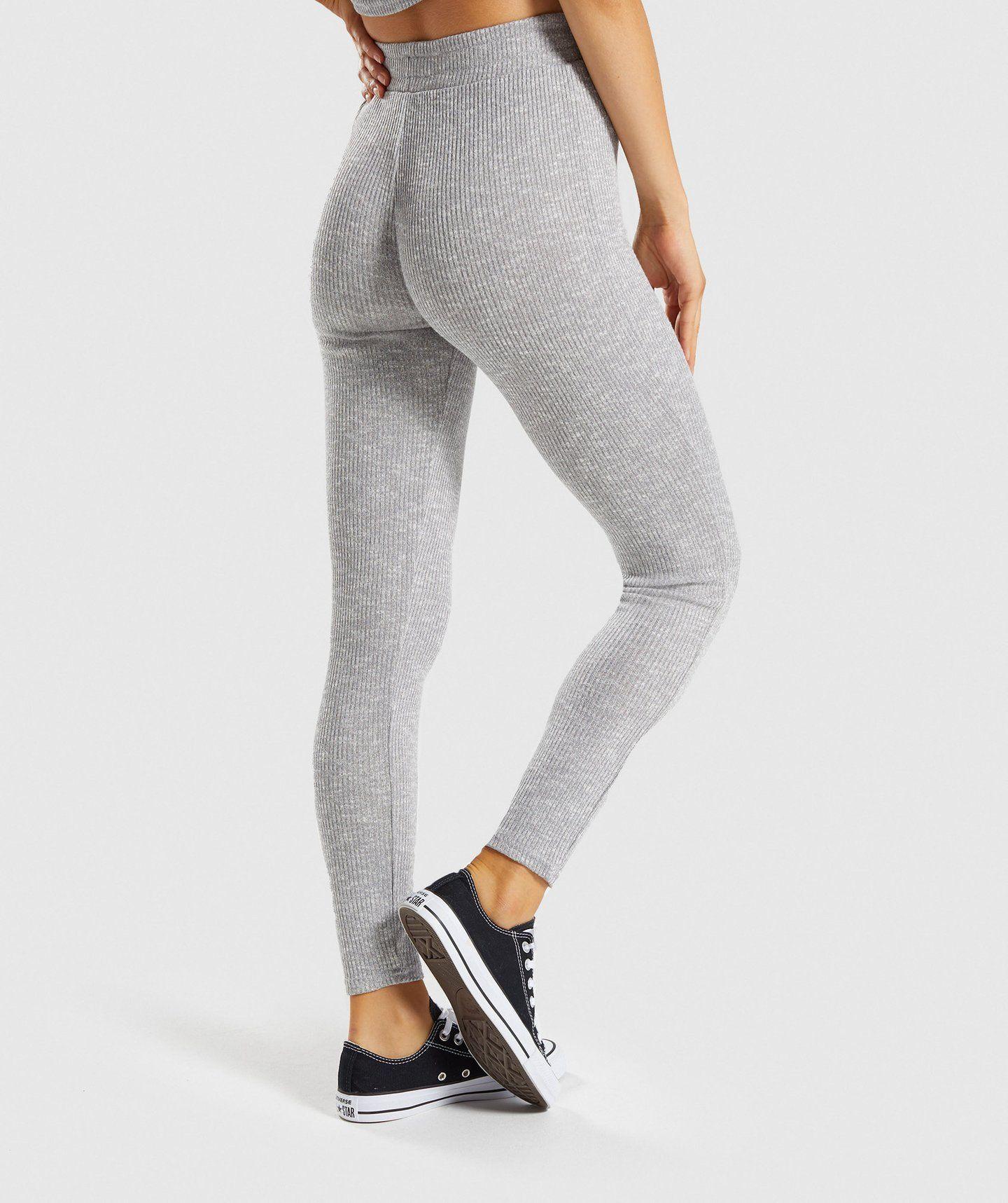 0d302b13d966f Gymshark Slounge Leggings - Light Grey Marl in 2019 | New Things to ...