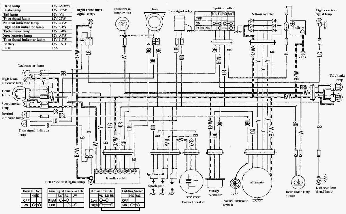 suzuki motorcycles wiring diagram