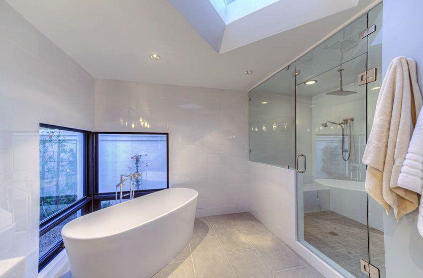 40 Modern Bathroom Design Ideas Pictures Modern White Bathroom
