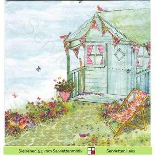 Sommerhaus im Garten - 1 Serviette