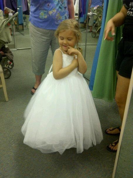 Cheap flower girl dresses weddingbee