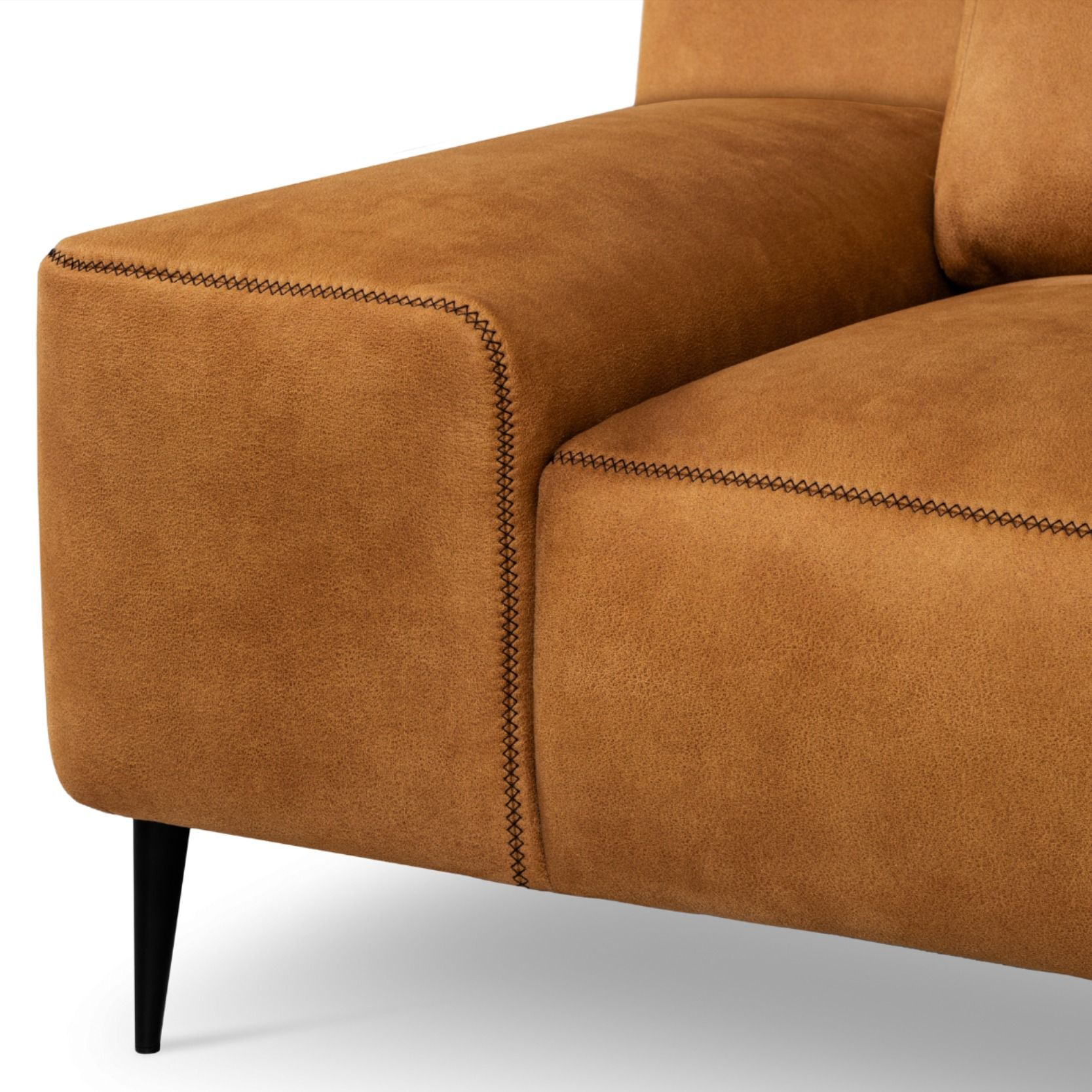 Sofa Veloursleder Forma By Designwerk Ag | High Quality Sofas, Sofa Design, Chic Living