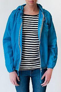 Claudette Klassic Jacket packable for SF weather