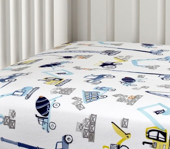 Construction Nursery Bedding