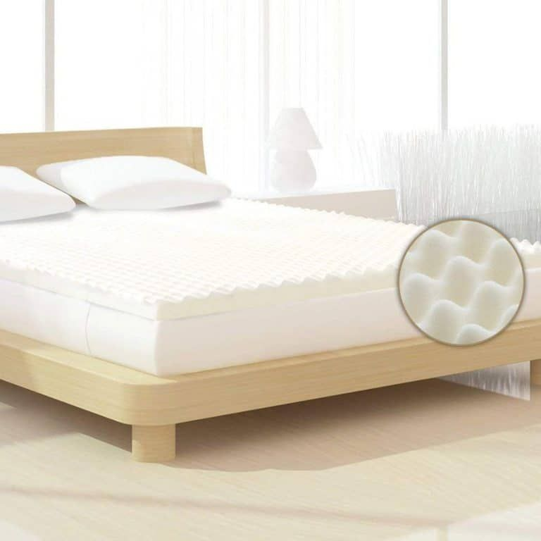 Milliard 2 Inch Egg Crate Ventilated Memory Foam Firm Mattress