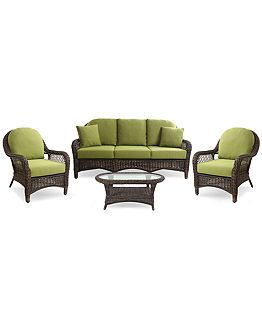 Windemere Outdoor Patio Furniture Seating Sets U0026 Pieces   Outdoor U0026 Patio  Furniture   Furniture