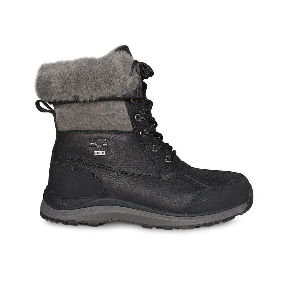 29a2f4eb038 eBay Advertisement) UGG ADIRONDACK III BLACK WATERPROOF SHEEPSKIN ...