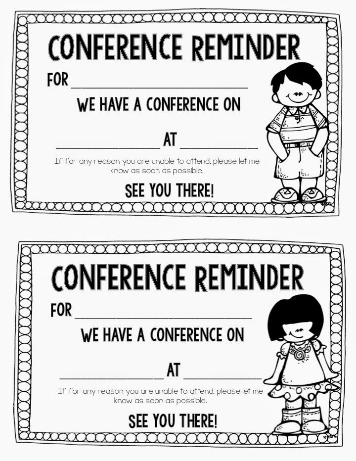 Successful Parent Teacher Conferences Teacher conferences - conference sign up sheet template