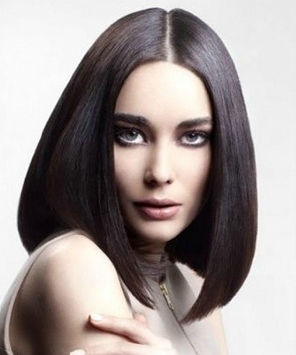 Medium Black Hairstyles For Straight Hair Cute Hairstyles Idea