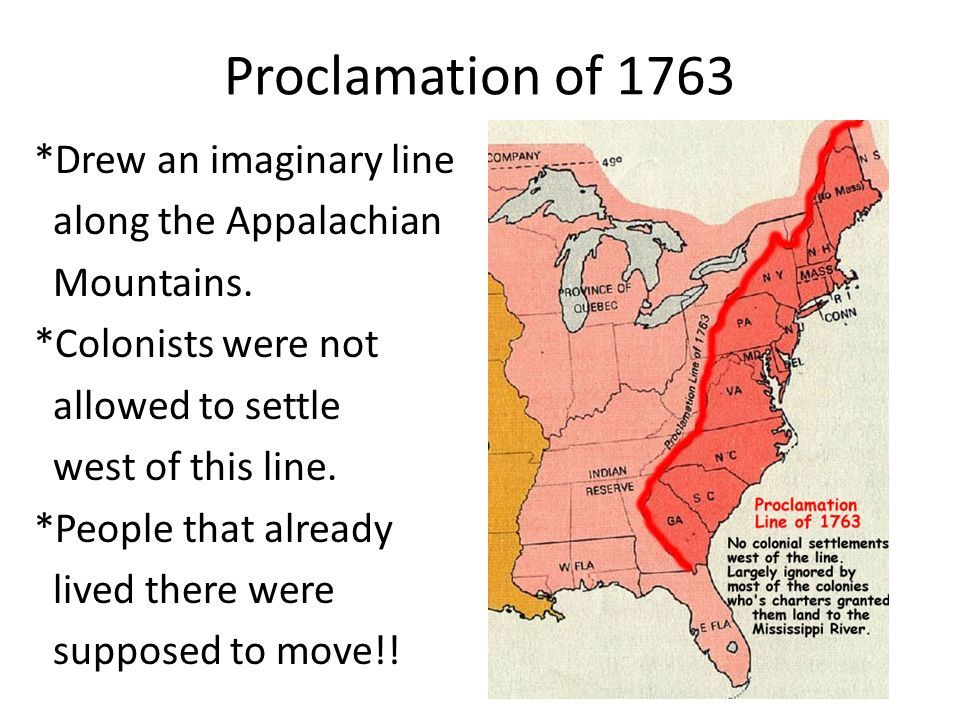 Proclamation of 1763 | American history | Pinterest ...