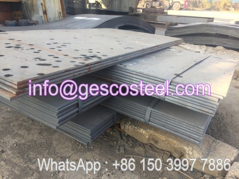 Astm A606 A242 Weather Resistant Corten Steel Plate Factory Direct