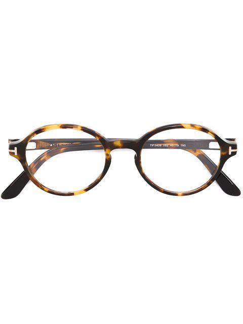 42398f62540328 Achetez Tom Ford Eyewear lunettes de vue à monture ronde.   Lunettes ...