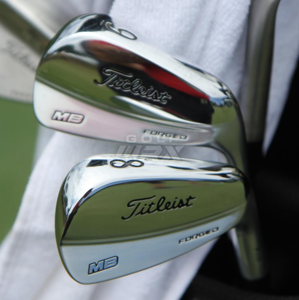 Spotted New Titleist Mb Prototype Irons Golf Images Golf Clubs Golf