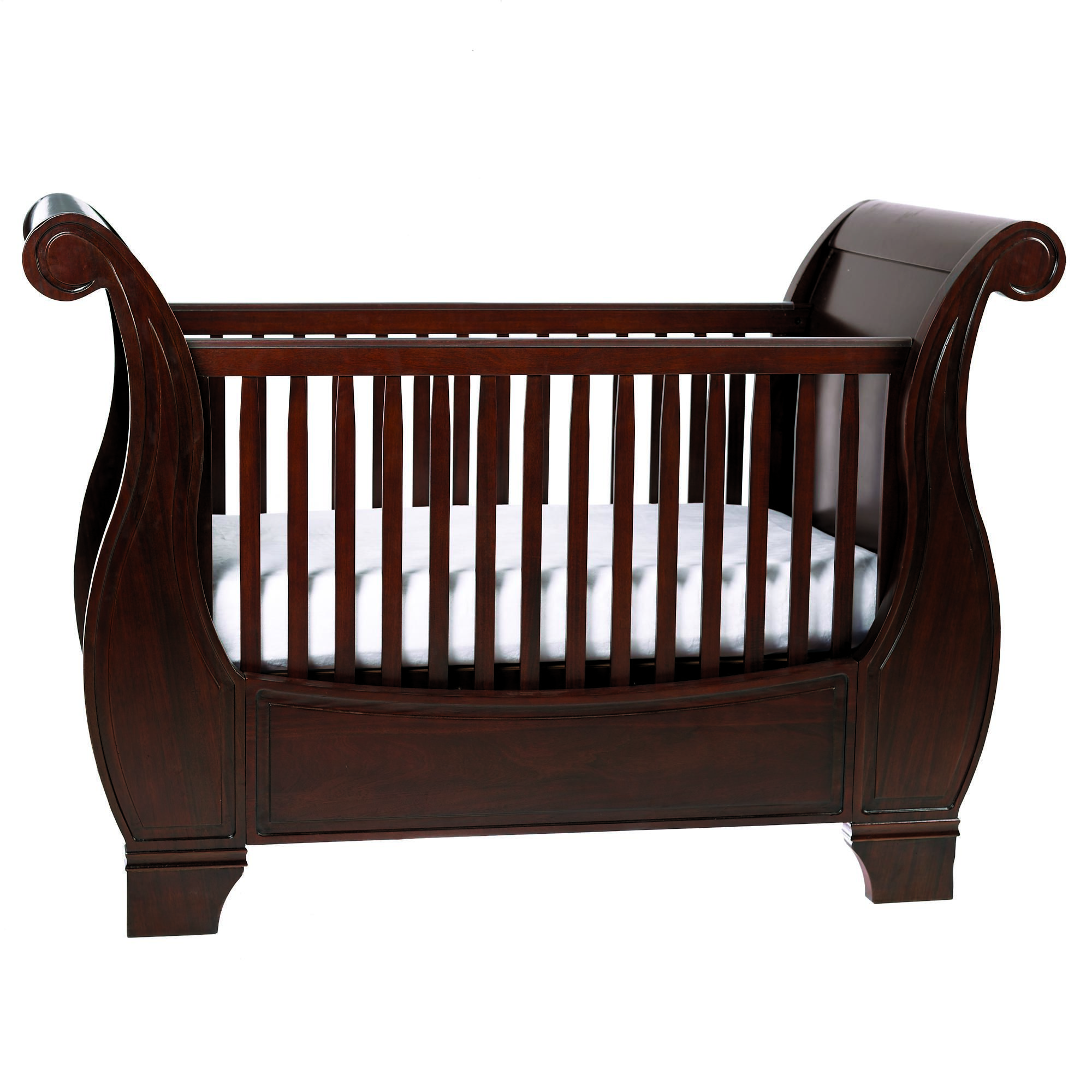Pottery Barn Kids Larkin Fixed Gate Sleigh Crib