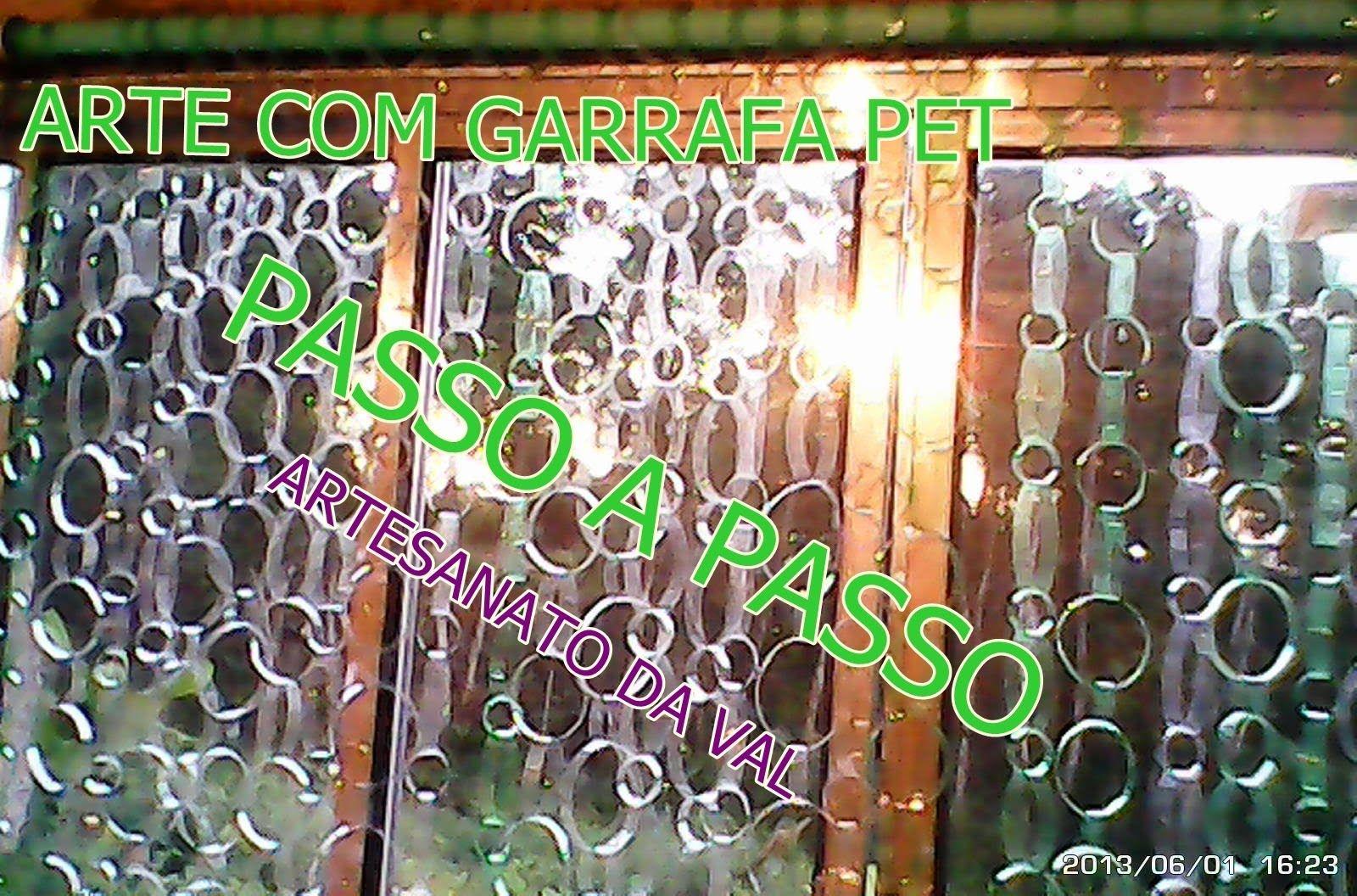 Cortina De Garrafa Pet Artesanatos Da Val Pet Reciclar