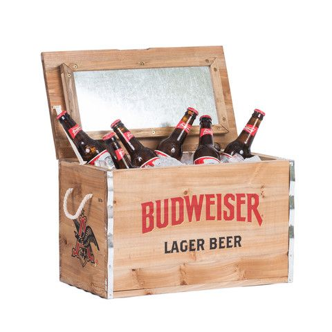 Budweiser Bud Crate Cooler My Mothers Day Gets Storage Chest