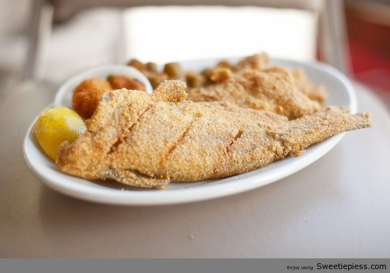 Ingredients  whole catfish 1 or 1 each for crowd flour, salt and pepper to dust vegetable oil to fry  Directions  1 I fry my catfish in my