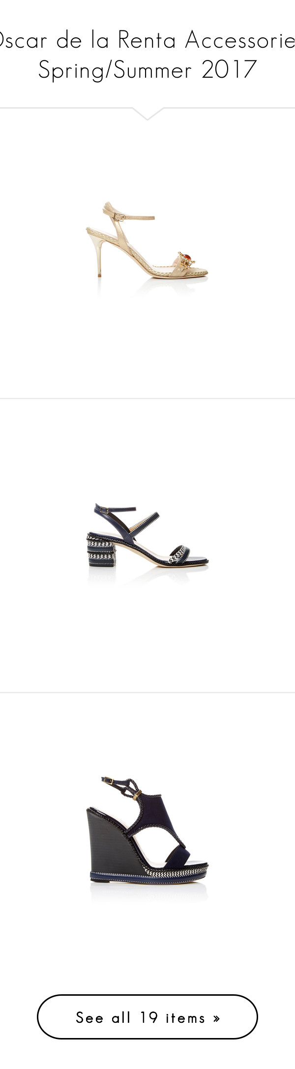 """""""Oscar de la Renta Accessories: Spring/Summer 2017"""" by livnd ❤ liked on Polyvore featuring shoes, pumps, metallic pumps, oscar de la renta pumps, decorating shoes, oscar de la renta, embellished pumps, embellished shoes, oscar de la renta shoes and suede shoes"""