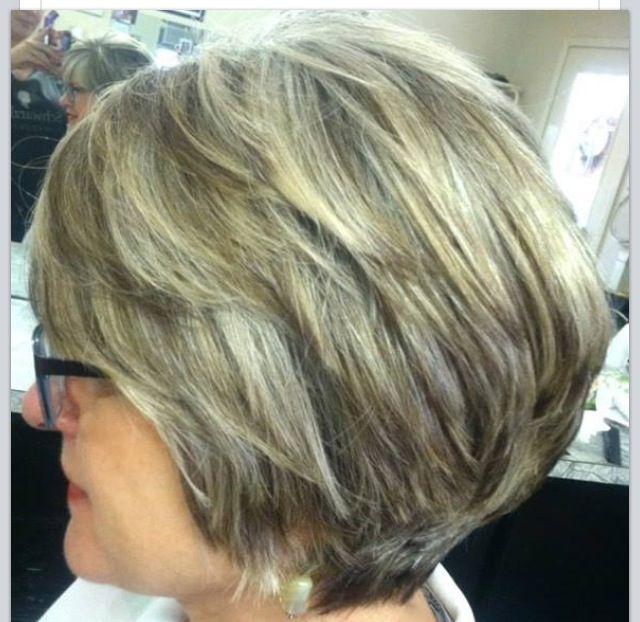 gray hair highlights - google