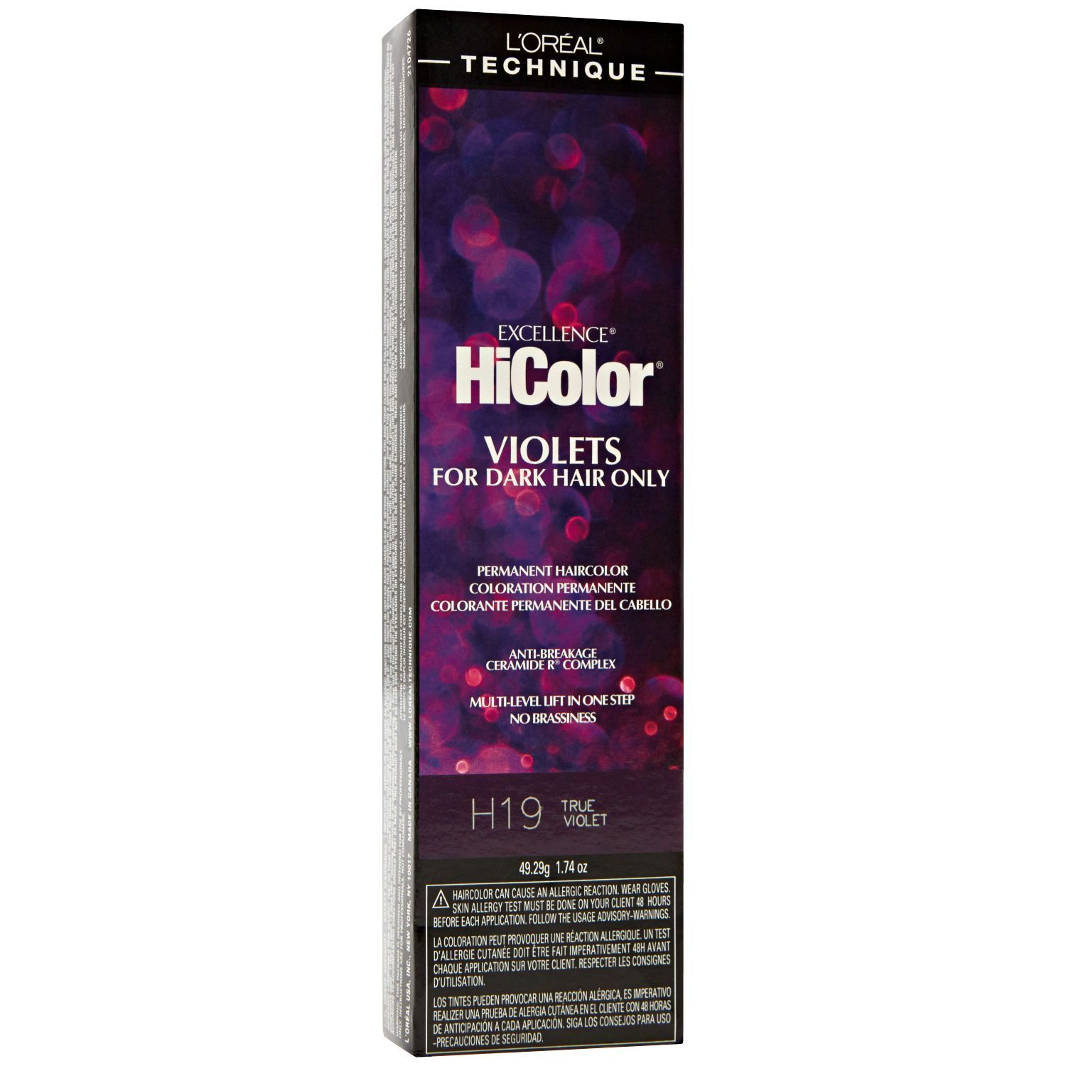 Loreal Technique Excellence Hicolor Violets For Dark Hair Only