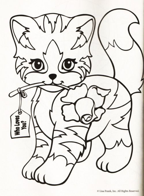 Quatang Gallery- Kleurplaat Poes Roos Cat Coloring Page Coloring Pages Coloring Books