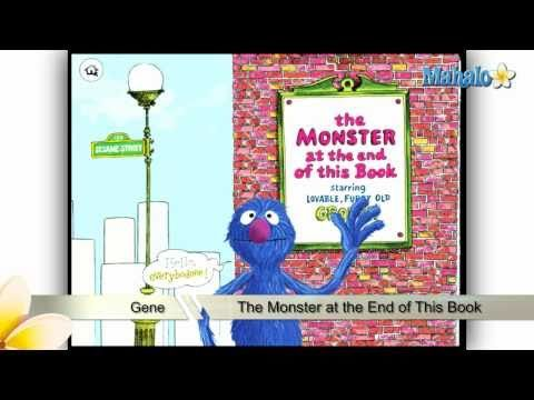The Monster At the End of This Book iPad App Review This