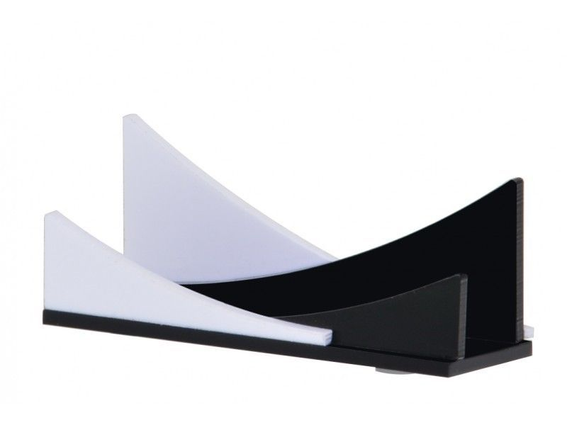 Unique Business Card Holder Black & White Display Stand USA Calling ...