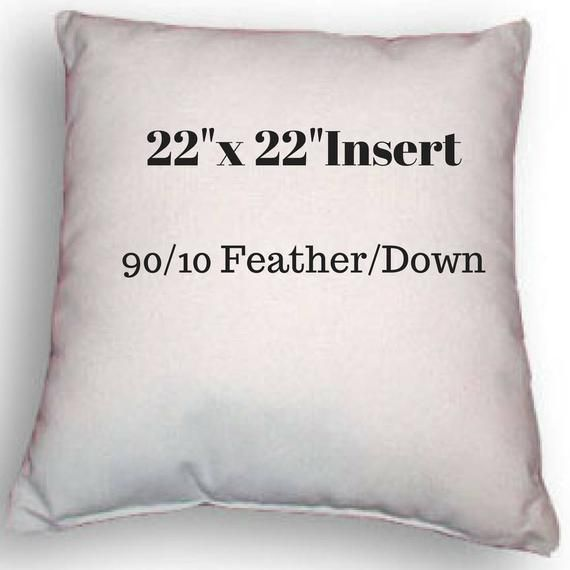 22 X Pillow Insert Feather Down Indoor