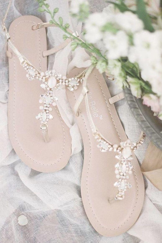 30 Offiziell Die Schonste Braut Schuhe Wunderschone Brautschuhe Sandalen Mit Steinen Fur Beac Brautschuhe Sandalen Brautschuhe Schuhe Hochzeit