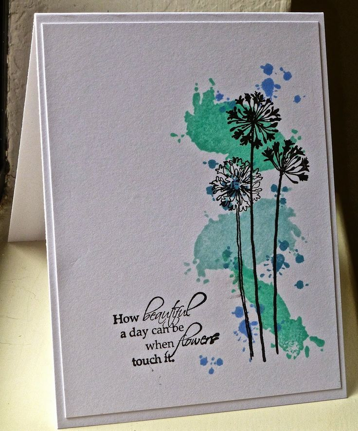 25 Best Ideas About Watercolor Cards On Pinterest Easy